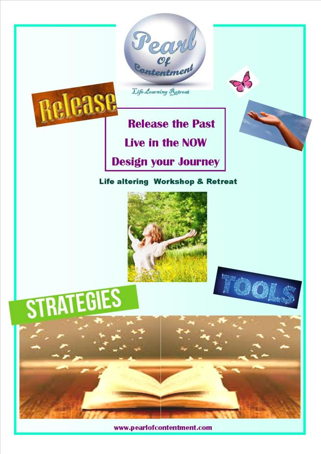 releasee the past, live in the now design youe journey pearl of contentment 3